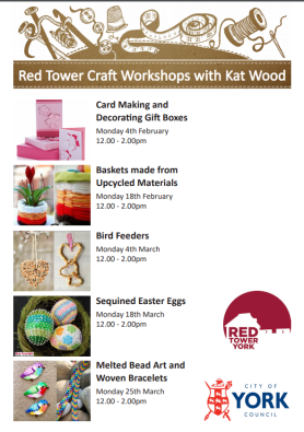 Red Tower spring crafts
